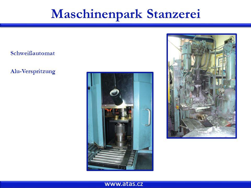 Maschinenpark Stanzerei