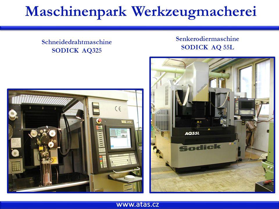 Maschinenpark Werkzeugmacherei Schneidedrahtmaschine