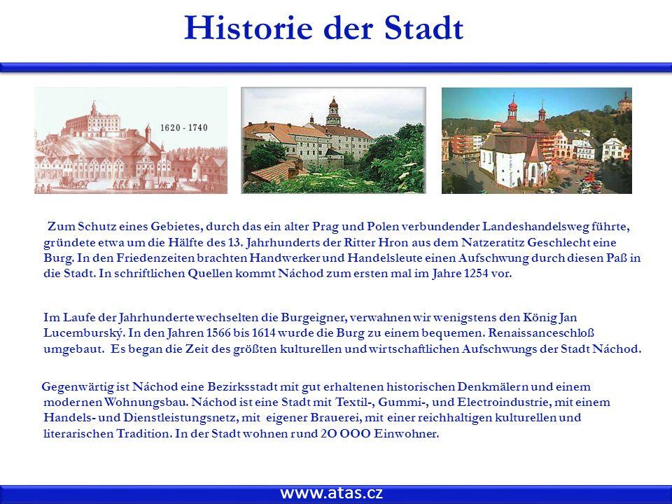 Historie der Stadt www.atas.cz