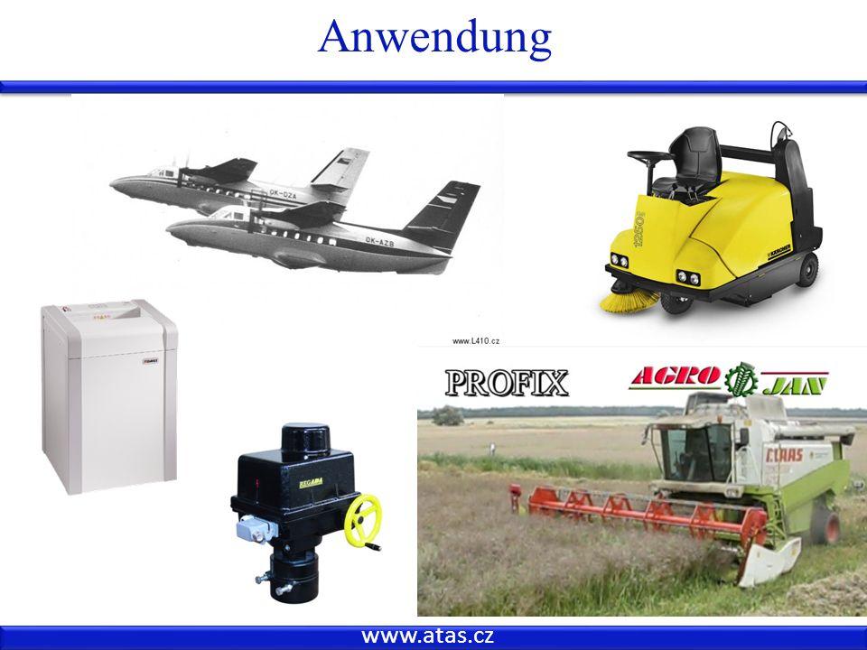 Anwendung www.atas.cz