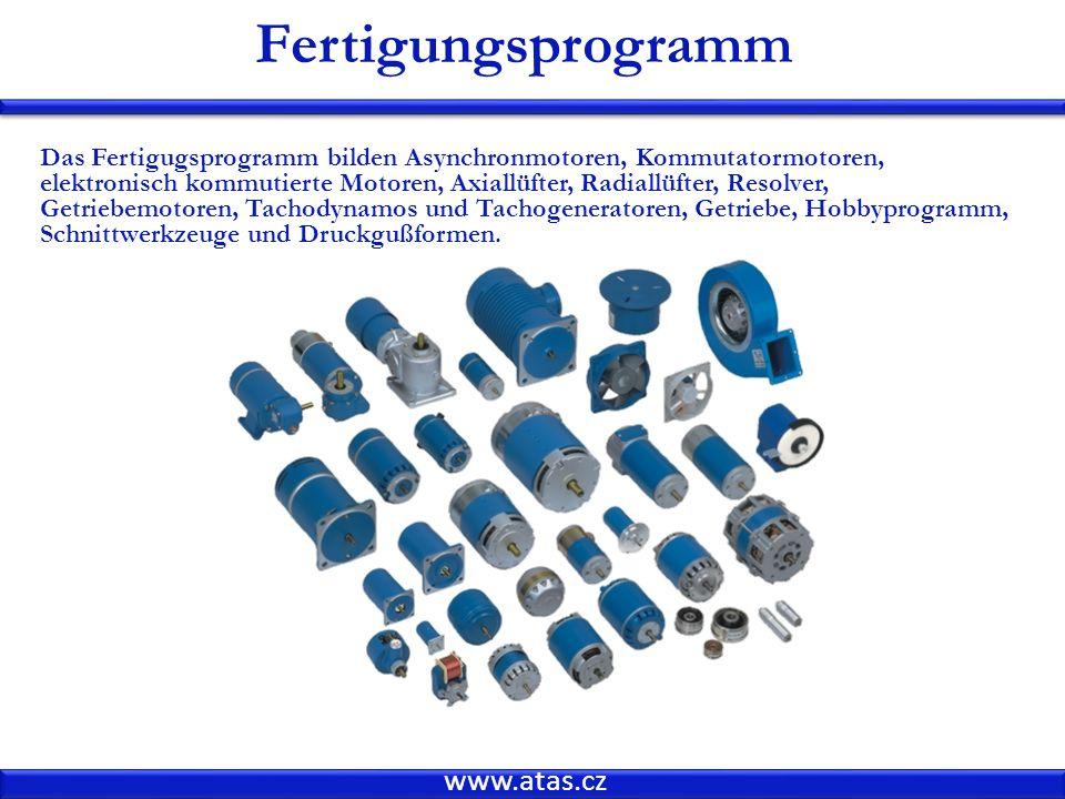 Fertigungsprogramm www.atas.cz