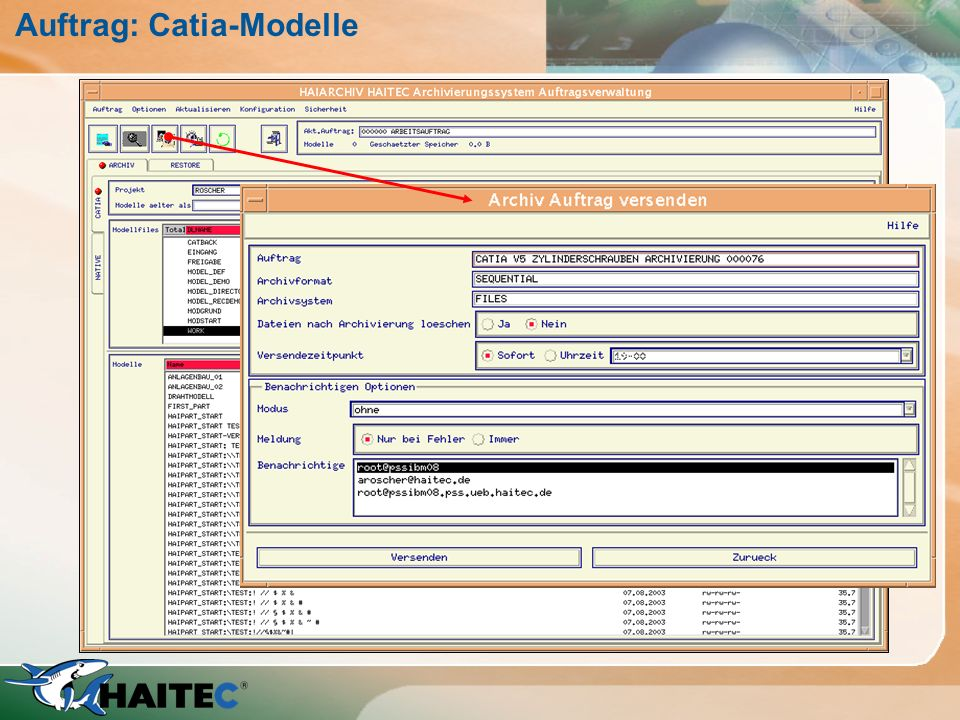 Auftrag: Catia-Modelle