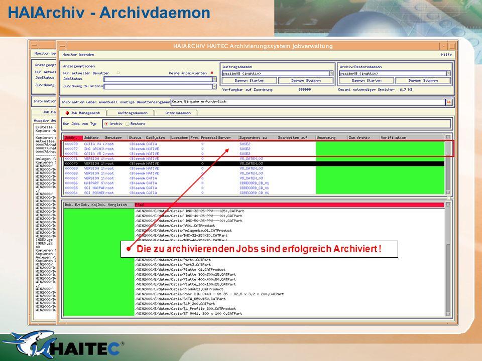 HAIArchiv - Archivdaemon