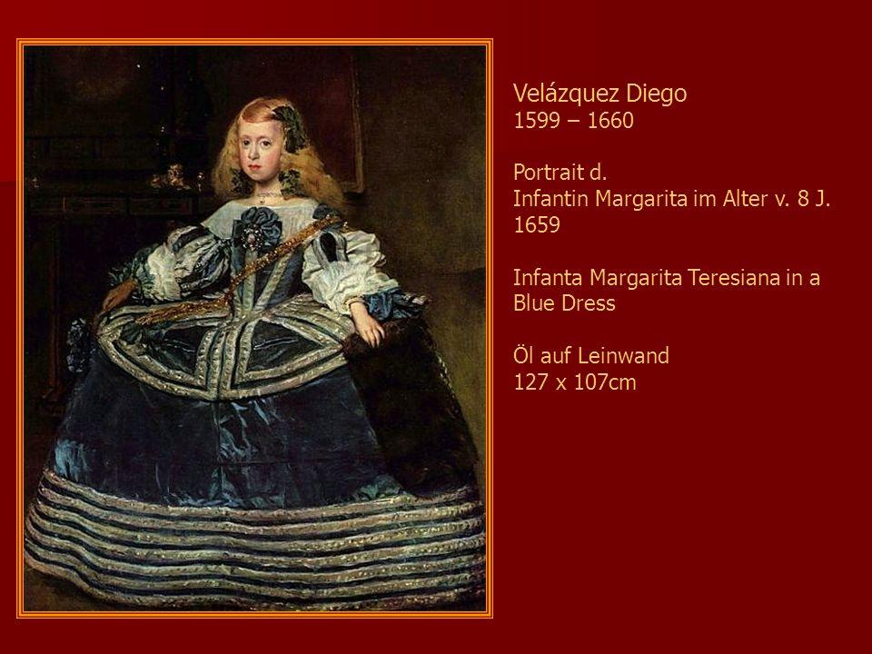 Velázquez Diego 1599 – 1660 Portrait d.