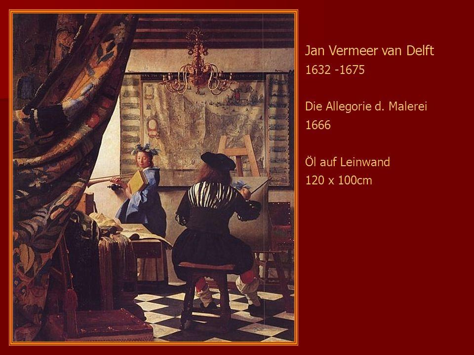 Jan Vermeer van Delft 1632 -1675 Die Allegorie d. Malerei 1666