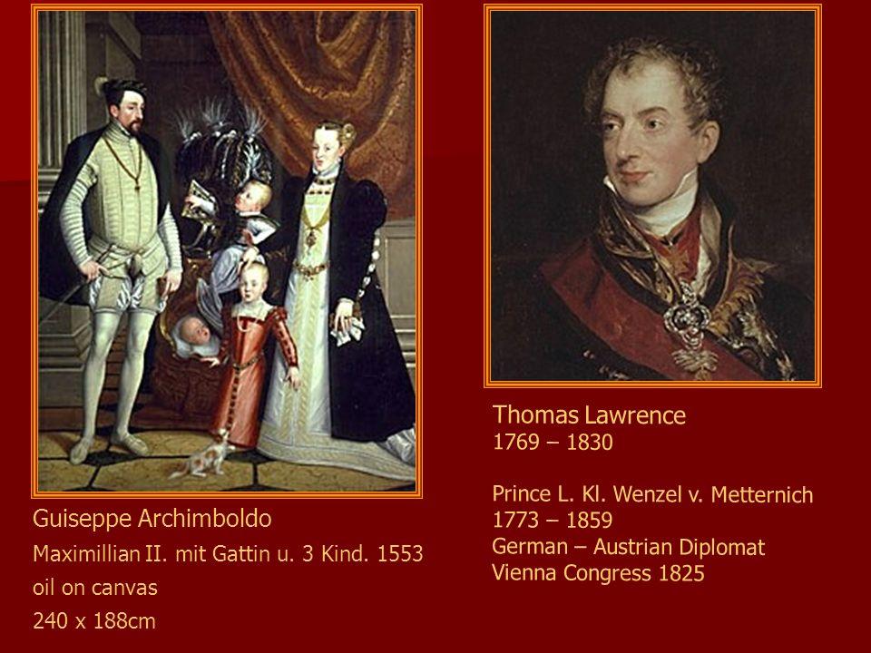 Thomas Lawrence Guiseppe Archimboldo 1769 – 1830