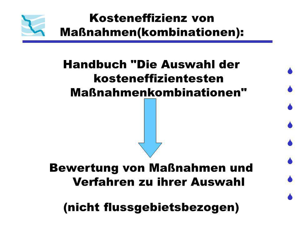 Kosteneffizienz von Maßnahmen(kombinationen):