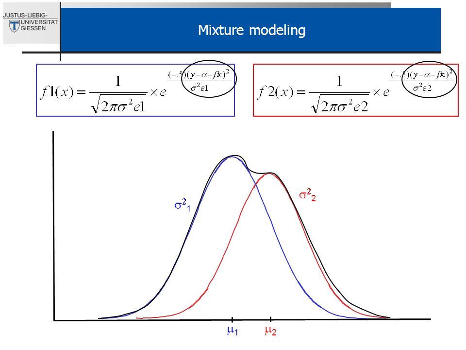 Mixture modeling s22. s21.