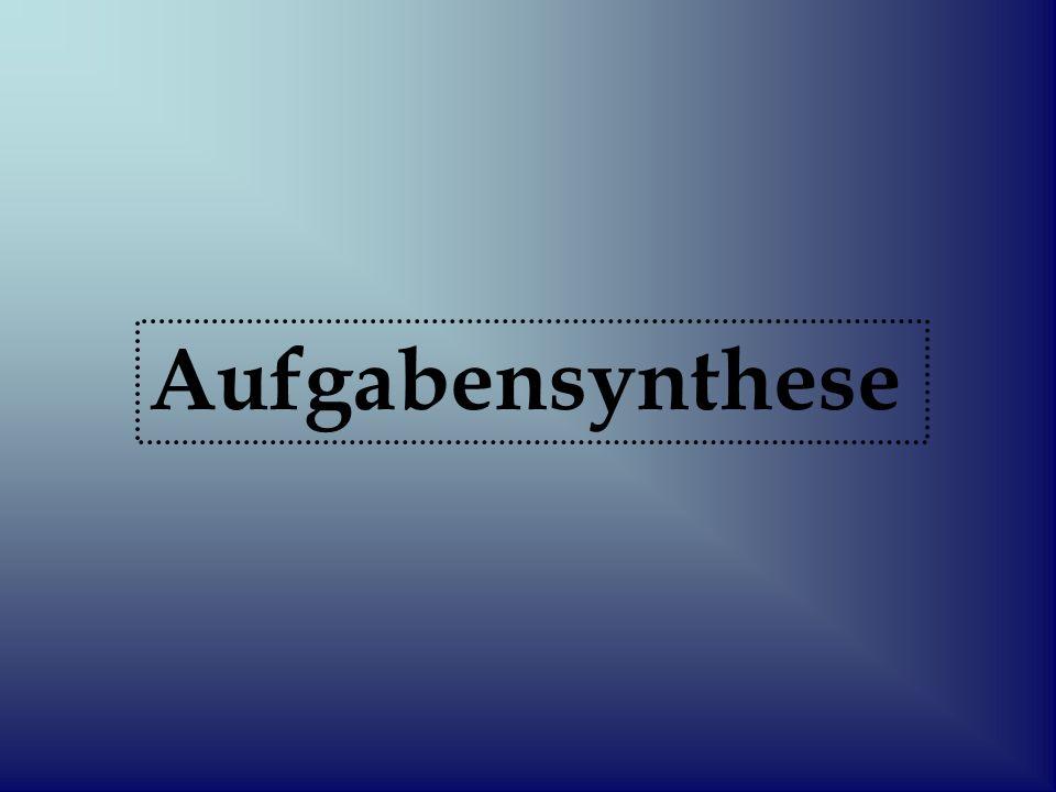 Aufgabensynthese