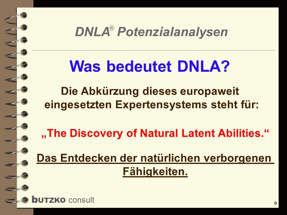 Was bedeutet DNLA Die Abkürzung dieses europaweit