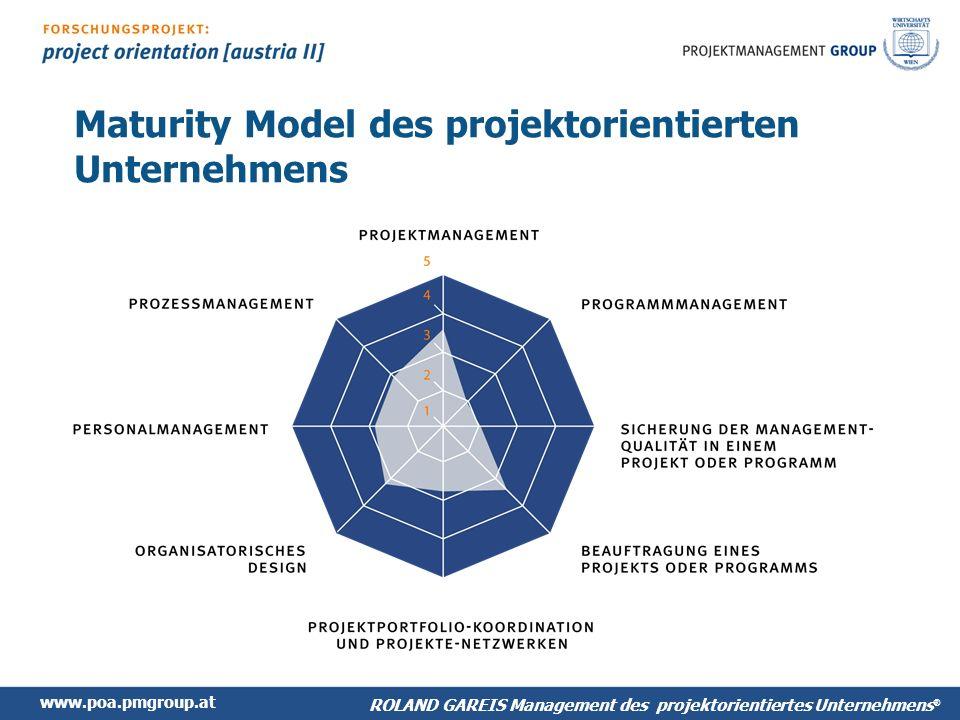 Maturity Model des projektorientierten Unternehmens
