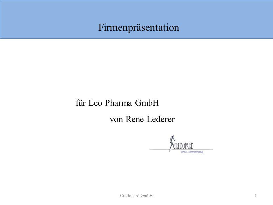 Firmenpräsentation für Leo Pharma GmbH von Rene Lederer Credopard GmbH