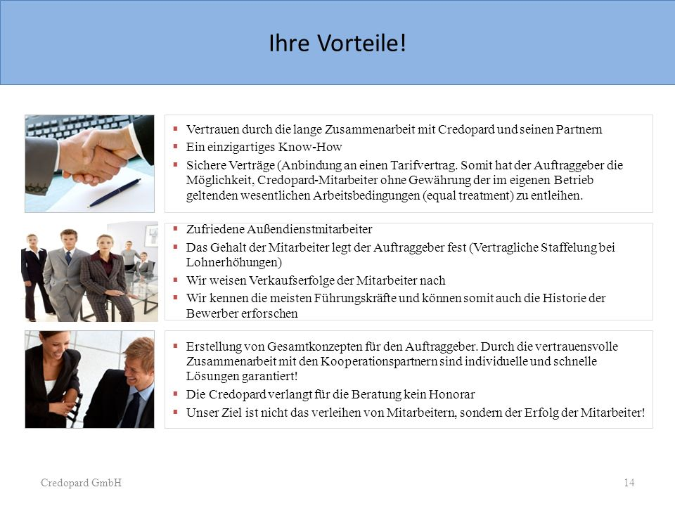 Sample Slide  Three images with text