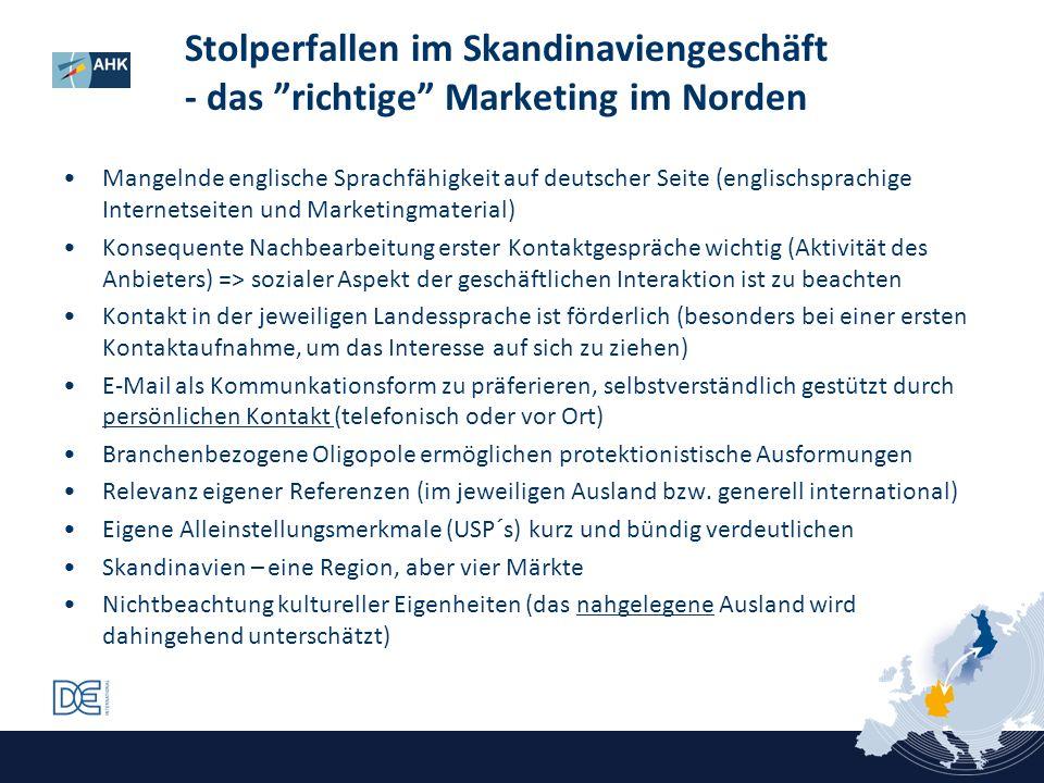 Stolperfallen im Skandinaviengeschäft - das richtige Marketing im Norden