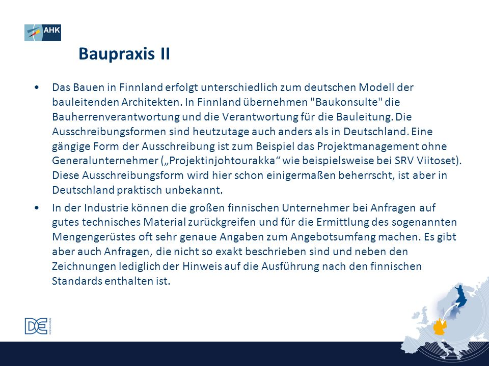 Baupraxis II