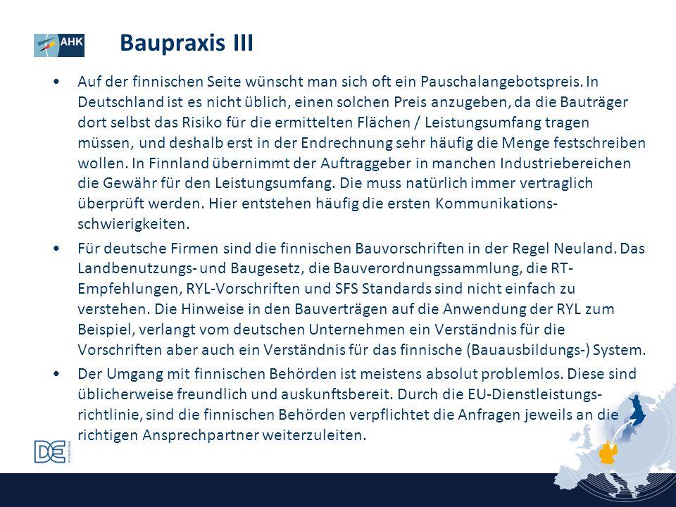 Baupraxis III