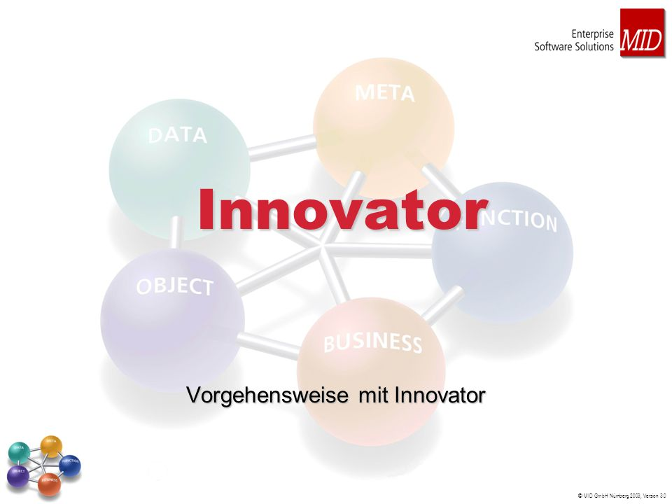 Vorgehensweise mit Innovator