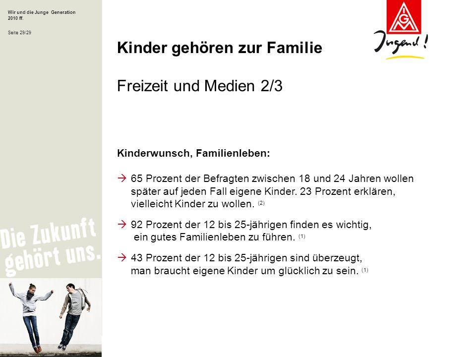 Kinder gehören zur Familie Freizeit und Medien 2/3