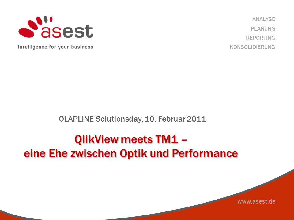 QlikView meets TM1 – eine Ehe zwischen Optik und Performance