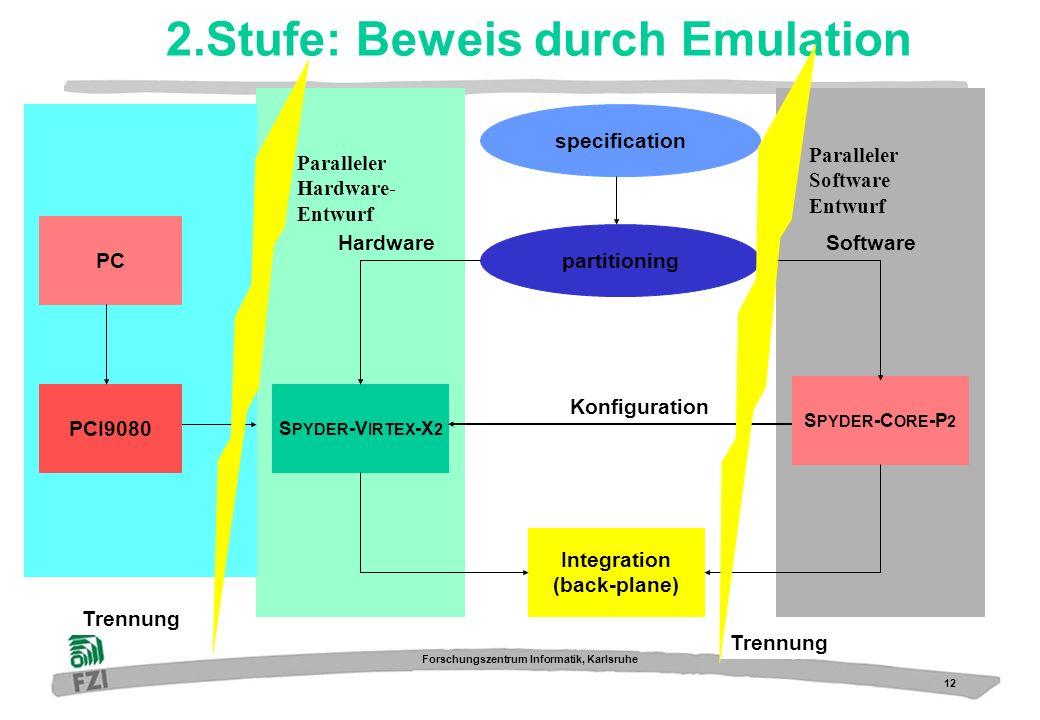 2.Stufe: Beweis durch Emulation