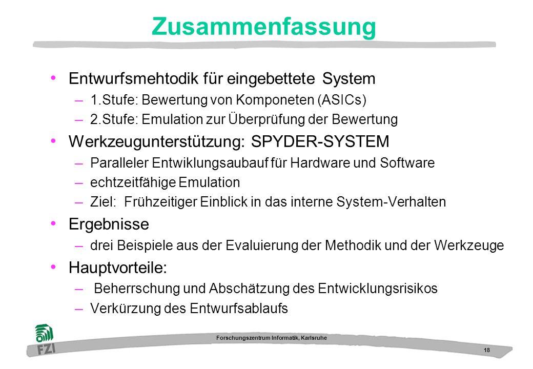 Zusammenfassung Entwurfsmehtodik für eingebettete System