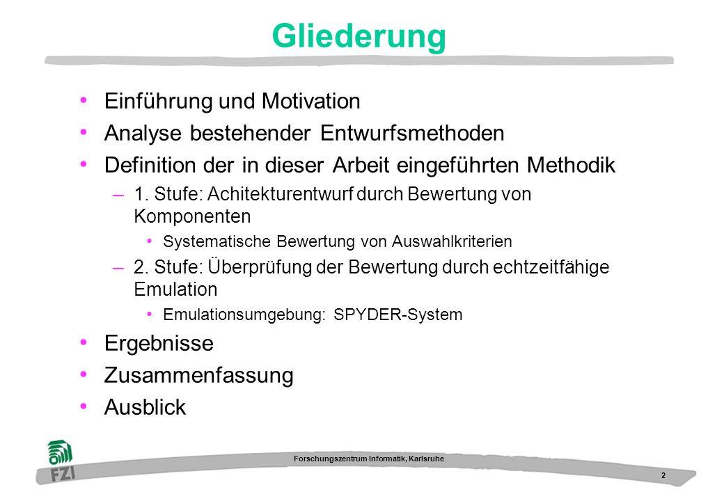 Gliederung Einführung und Motivation