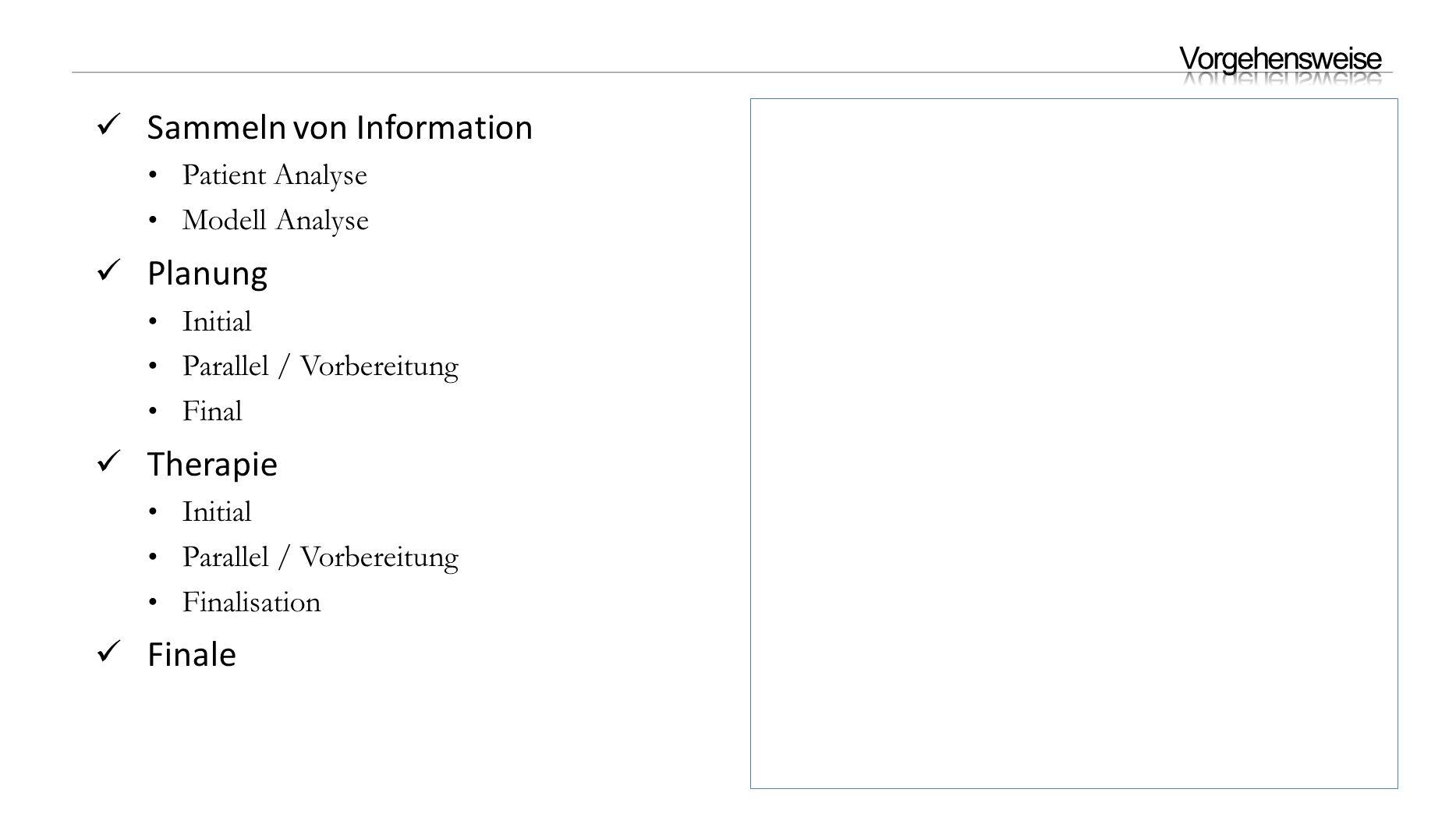 Sammeln von Information