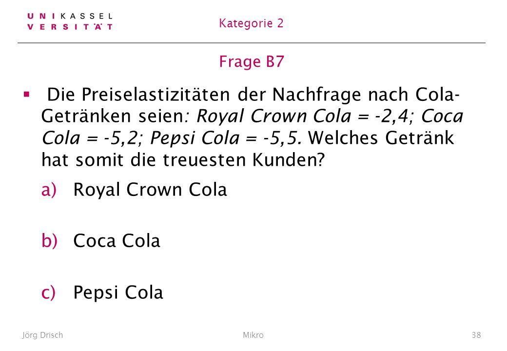Kategorie 2 Frage B7.