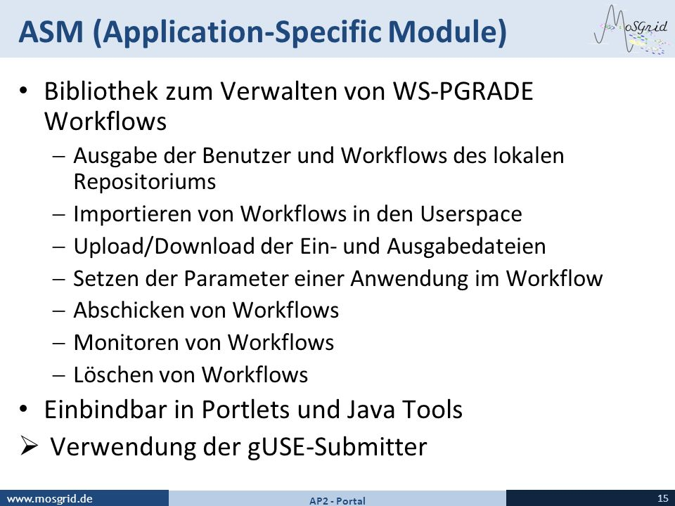 ASM (Application-Specific Module)