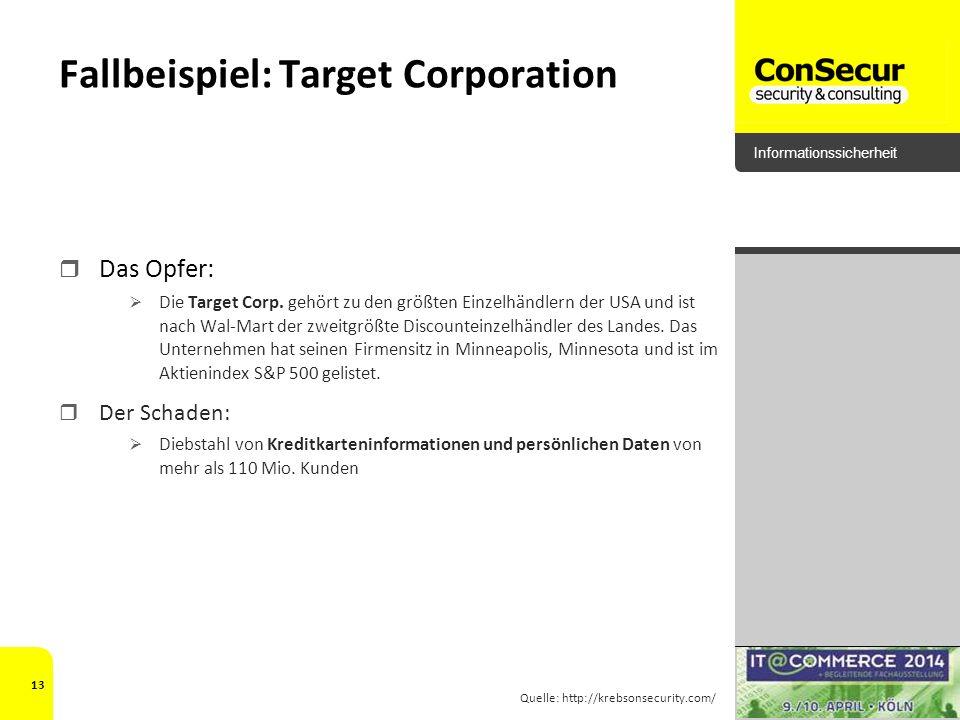 Fallbeispiel: Target Corporation