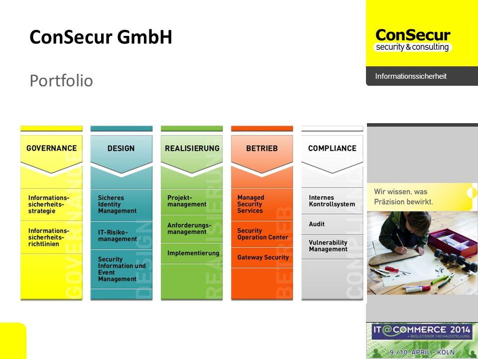 ConSecur GmbH Portfolio
