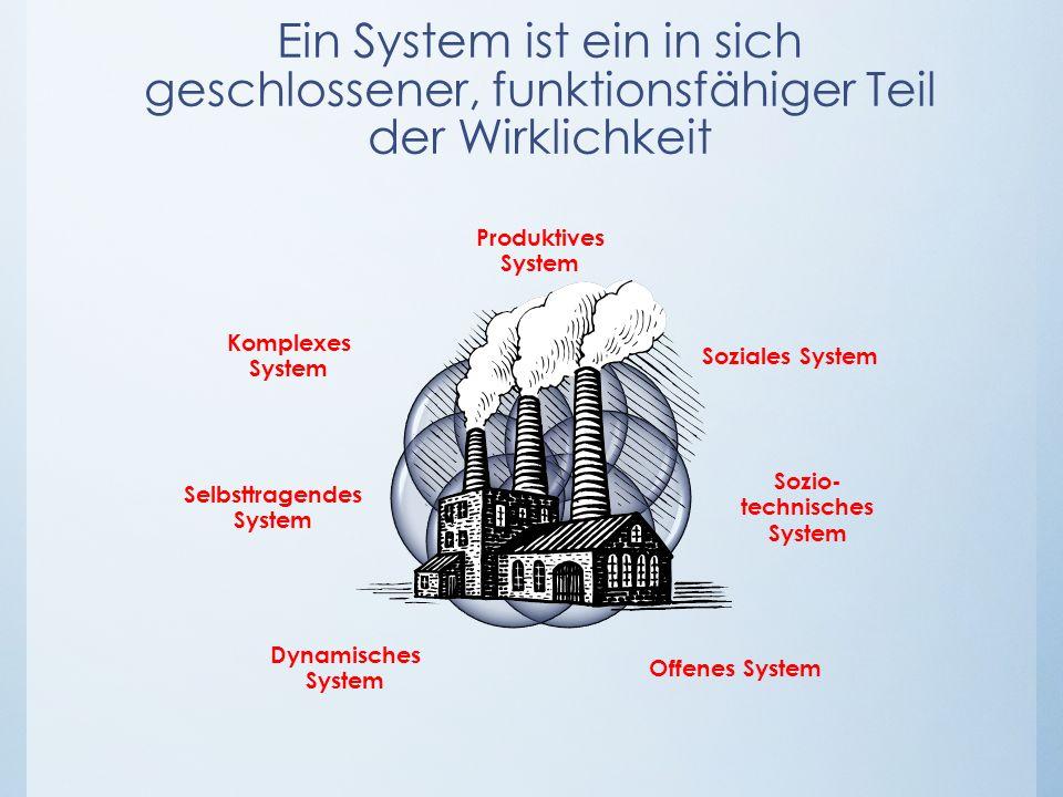 Sozio-technisches System Selbsttragendes System