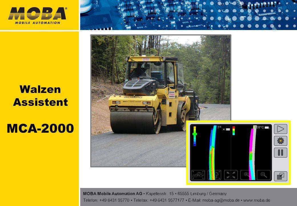 Walzen Assistent MCA-2000