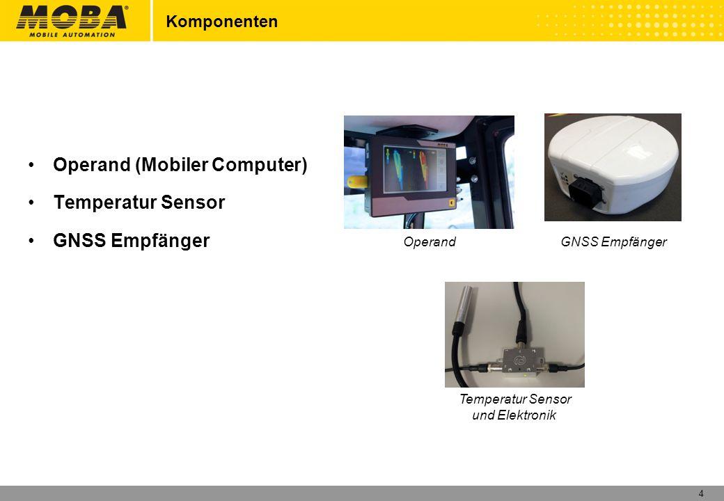 Temperatur Sensor und Elektronik