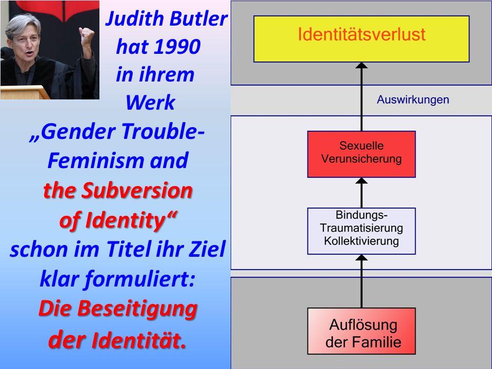 """""""Gender Trouble- Feminism and schon im Titel ihr Ziel klar formuliert:"""