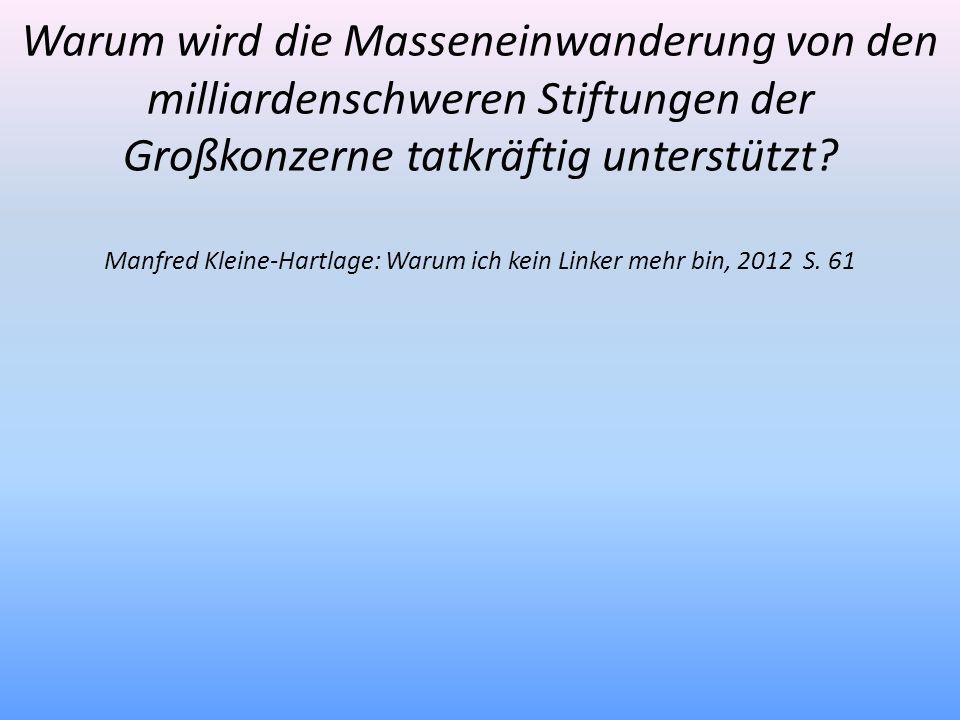Manfred Kleine-Hartlage: Warum ich kein Linker mehr bin, 2012 S. 61