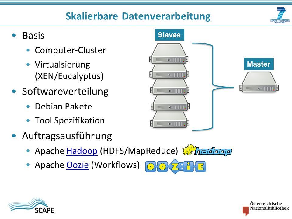 Skalierbare Datenverarbeitung