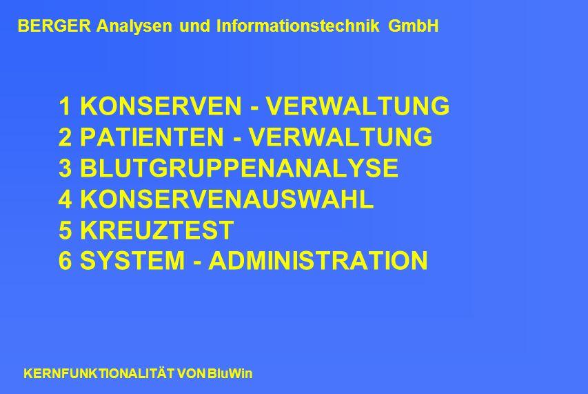 BERGER Analysen und Informationstechnik GmbH