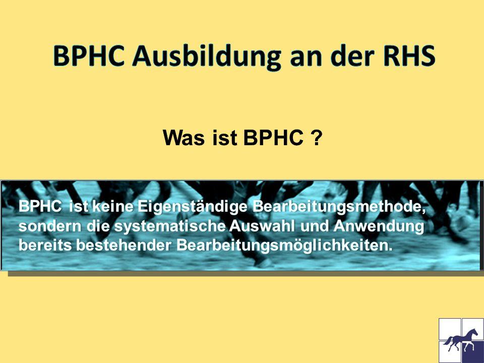 BPHC Ausbildung an der RHS