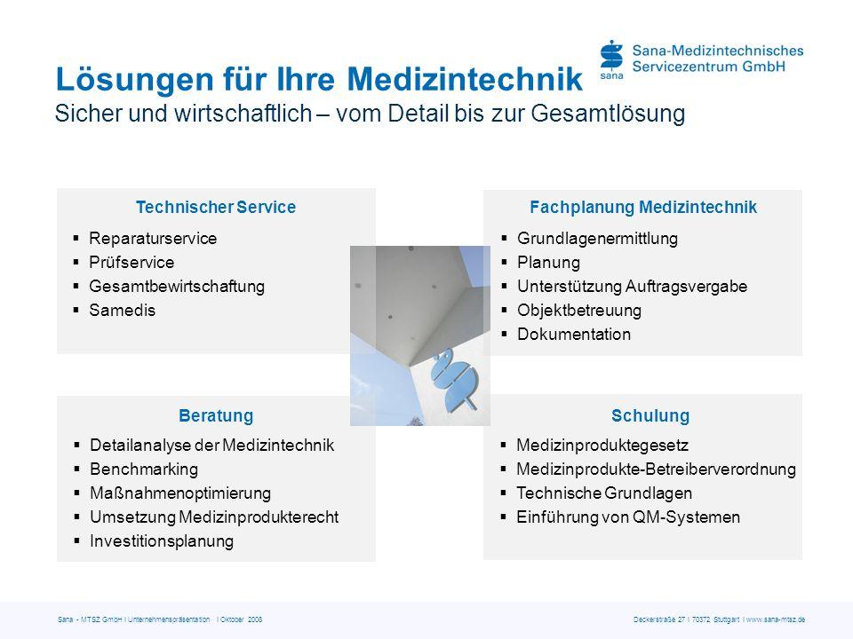 Lösungen für Ihre Medizintechnik