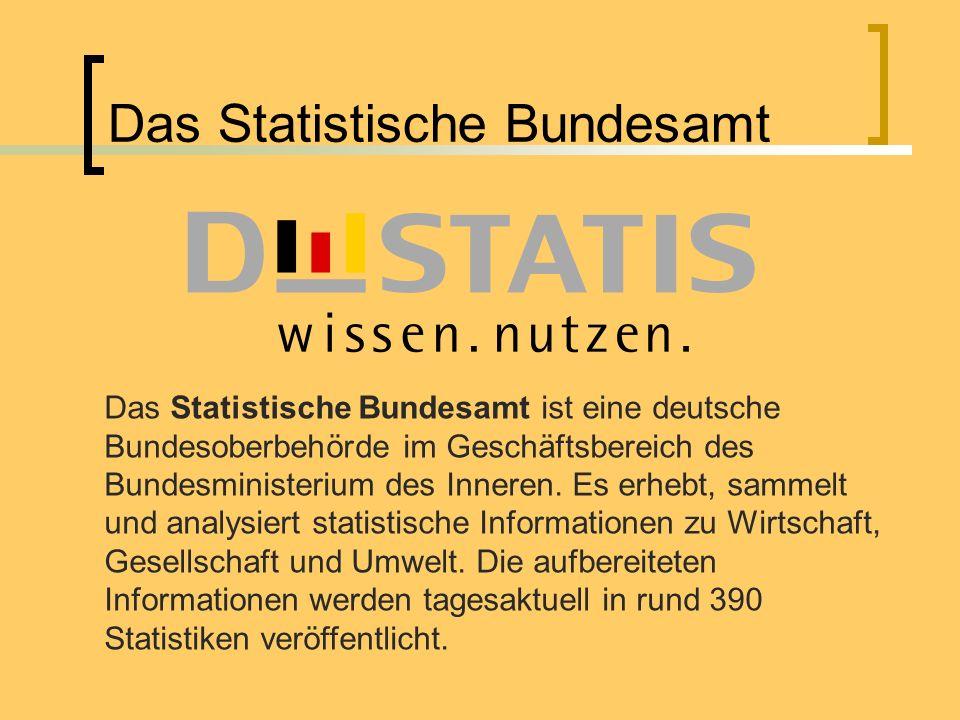 Das Statistische Bundesamt