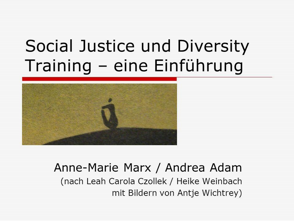 Social Justice und Diversity Training – eine Einführung