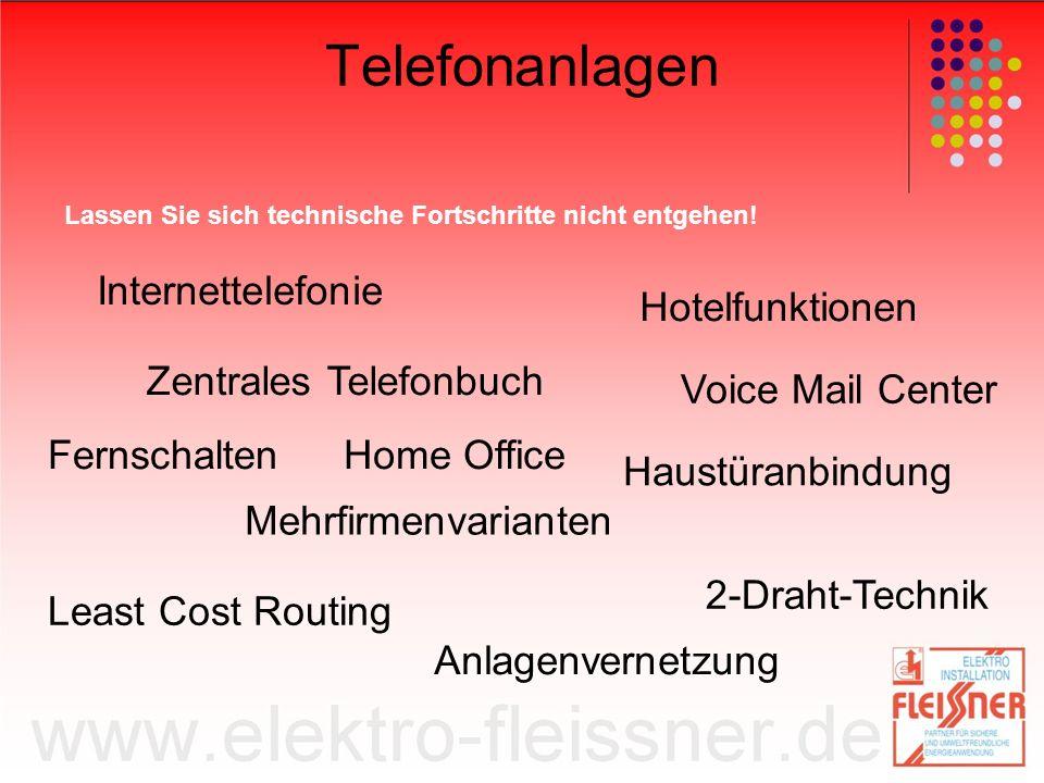 Telefonanlagen Internettelefonie Hotelfunktionen Zentrales Telefonbuch