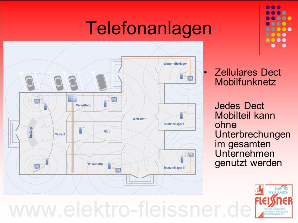 Telefonanlagen Zellulares Dect Mobilfunknetz