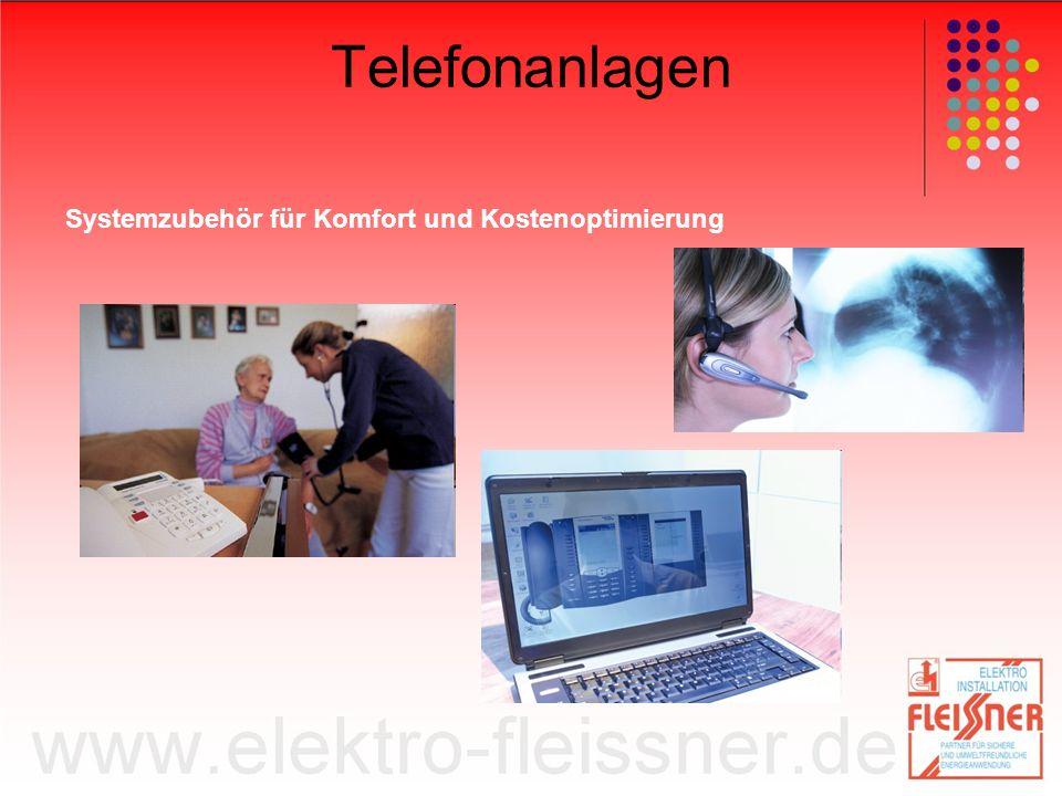 Telefonanlagen Systemzubehör für Komfort und Kostenoptimierung