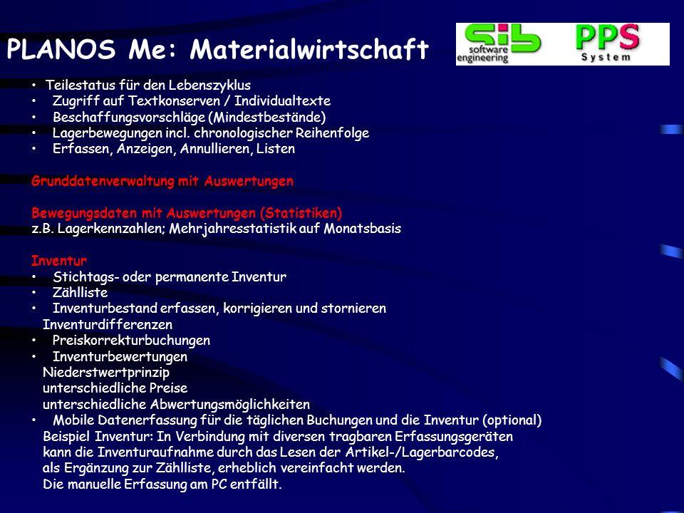 Umweltmanagement Integration aller PLANOS-Bereiche. Einbindung in die EU-ÖKO-Audit Ordnung. In Anlehnung an ISO 14000 ff.