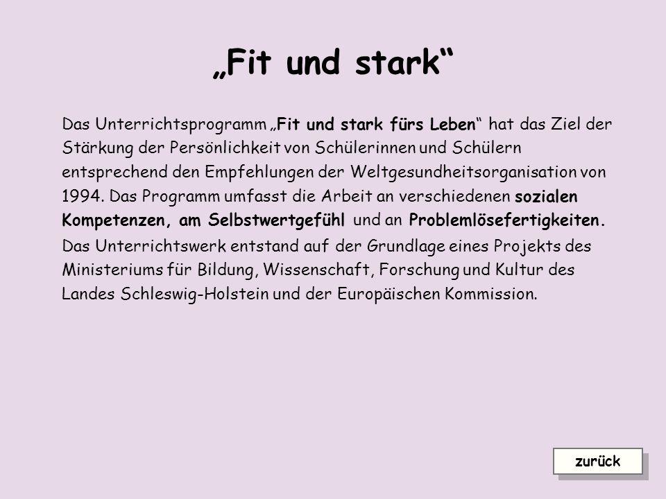 """""""Fit und stark"""