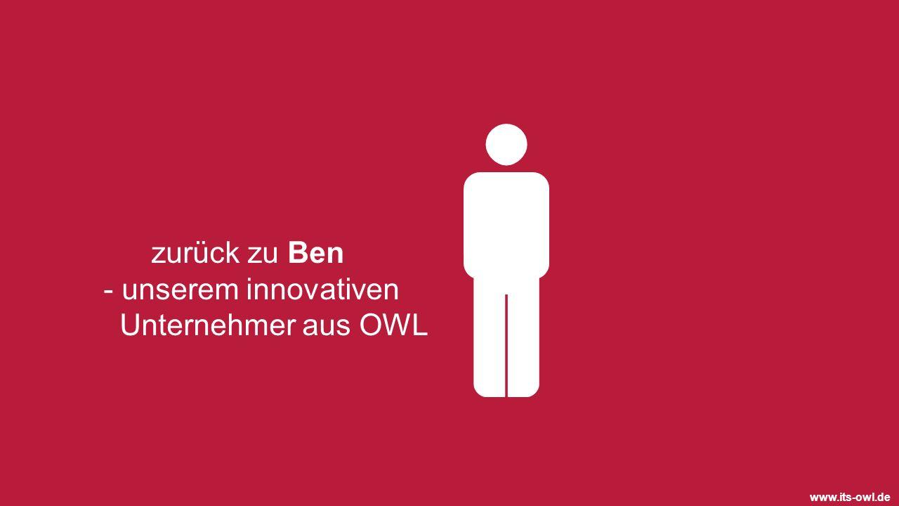 - unserem innovativen Unternehmer aus OWL