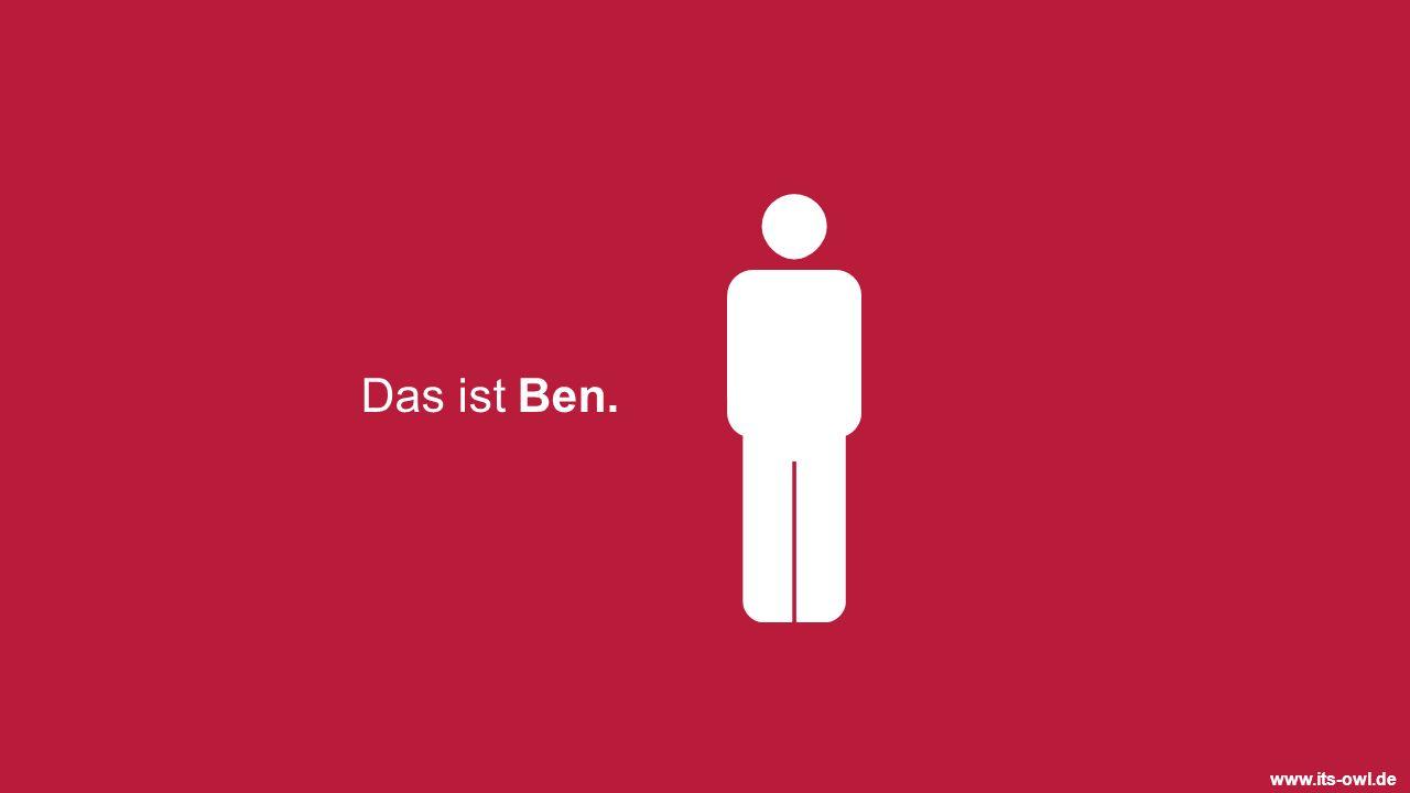 Das ist Ben.