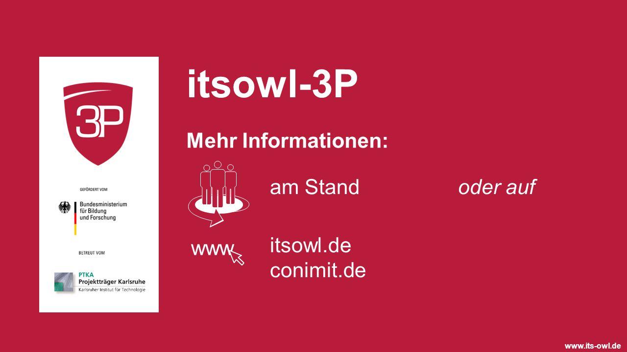 itsowl-3P Mehr Informationen: am Stand oder auf itsowl.de conimit.de